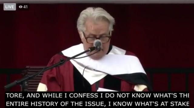 Martin Sheen, 1,200Graduating Seniors, and Guests Support Santa Clara Univ. Adjuncts and Lecturers' Efforts to Unionize